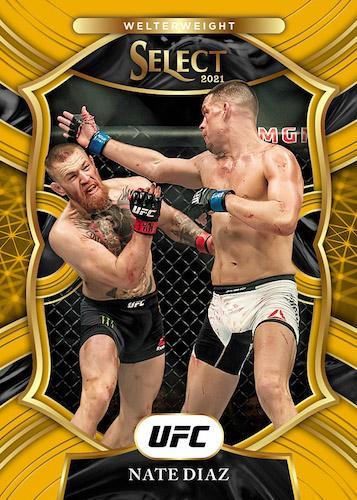 2021 Panini Select UFC Cards Base Concourse Gold Priz