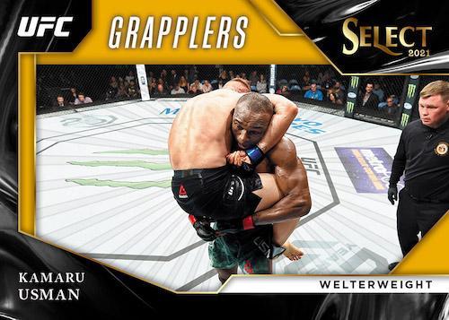 2021 Panini Select UFC Cards Grapplers Gold Prizms Kamaru Usman b9f0e816 a276 4c44 adca 67234450e787 1024x1024