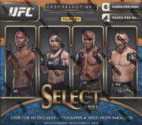 2021 Panini Select UFC Cards H2 Box