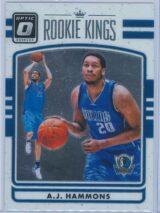 A.J. Hammons Panini Donruss Optic Basketball 2016-17 Rookie Kings   RY