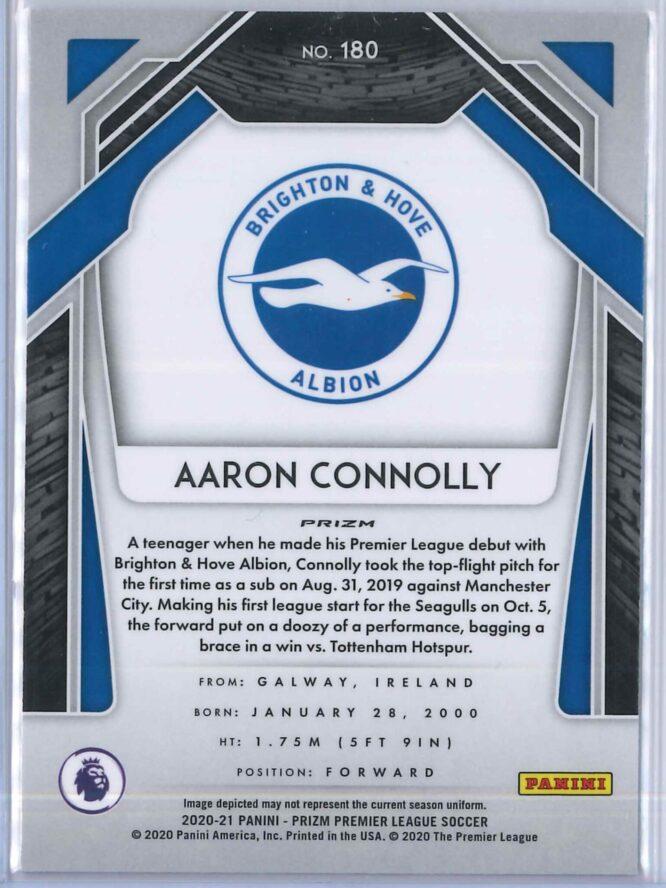 Aaron Connolly Panini Prizm Premier League 2020 21 Breakaway Pulsar 2
