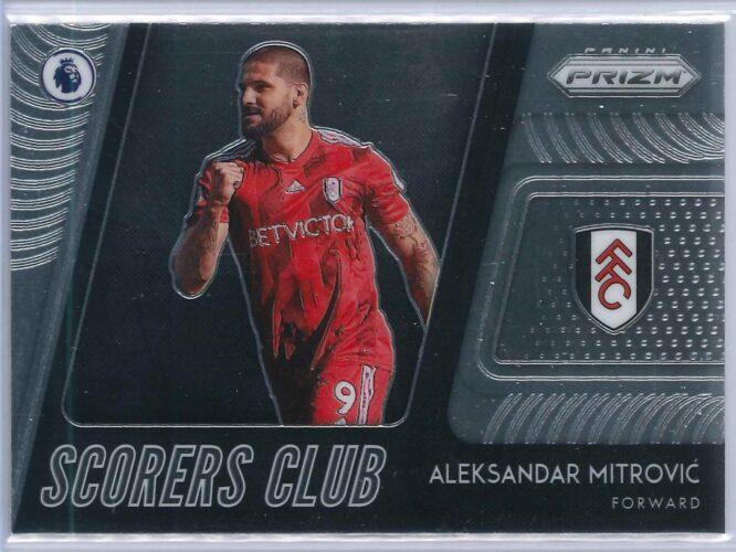 Aleksandar Mitrovic Panini Prizm Premier League 2020-21 Scorers Club
