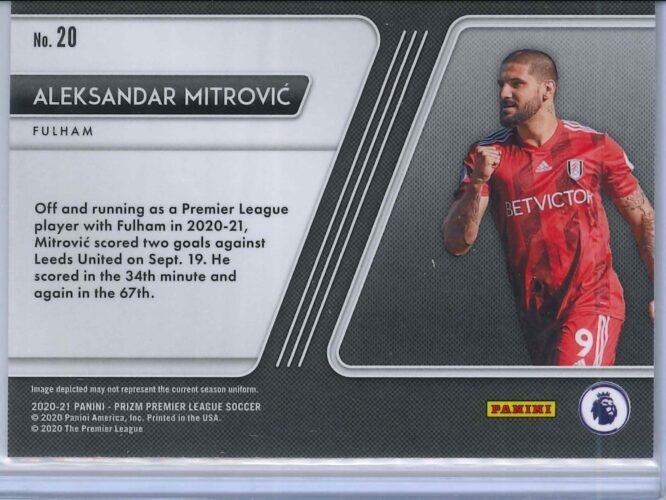 Aleksandar Mitrovic Panini Prizm Premier League 2020 21 Scorers Club 2