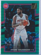 Andre Drummond Panini Donruss Basketball 2017-18  Holo Green Laser 1099