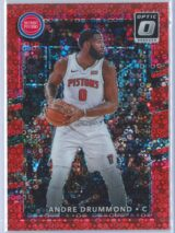 Andre Drummond Panini Donruss Optic Basketball 2017-18  Fast Break Red Prizm 3585