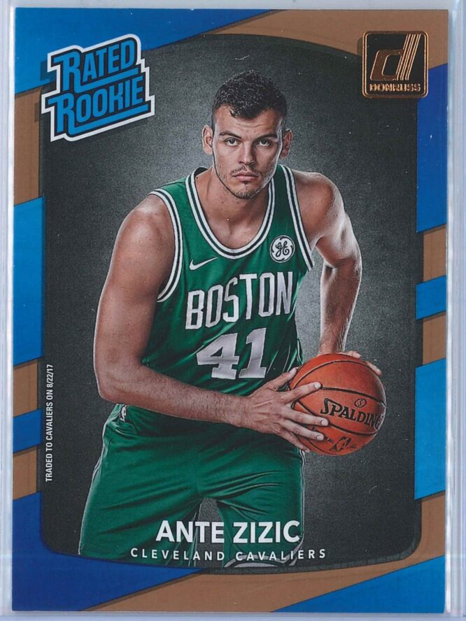 Ante Zizic Panini Donruss Basketball 2017-18 Rated Rookie   RC