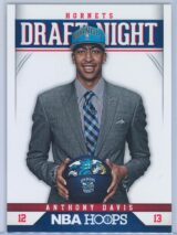 Anthony Davis Panini NBA Hoops 2012-13 Draft Night   RY