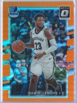 Ben McLemore Panini Donruss Optic Basketball 2017-18  Orange Prizm 035199