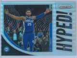 Ben Simmons Panini Prizm 2019-20 Get Hyped Silver Prizm