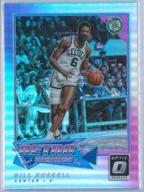 Bill Russell Panini Donruss Optic Basketball 2017-18 Retro Series Holo