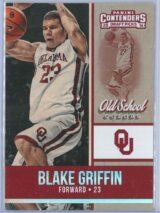 Blake Griffin Panini Contenders Draft Picks 2016-17 Old School Colors