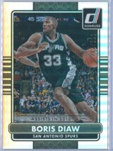 Boris Diaw Panini Donruss Basketball 2014-15  Silver Season Stat Line 212222