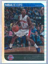 Brandon Jennings Panini NBA Hoops 2014 15 Silver 398399 1