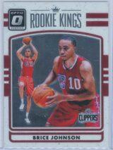 Brice Johnson Panini Donruss Optic Basketball 2016-17 Rookie Kings   RY