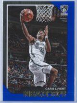 Caris LeVert Panini NBA Hoops 2018-19  Blue