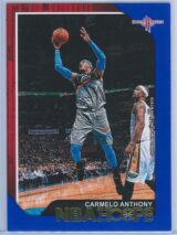 Carmelo Anthony Panini NBA Hoops 2018-19  Blue