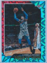 Carmelo Anthony Panini NBA Hoops 2018-19  Teal Explosion