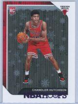 Chandler Hutchison Panini NBA Hoops 2018-19  Purple Winter  RC