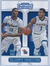 Cheick Diallo - Wayne Selden Jr. Panini Contenders Draft Picks 2016-17 Collegiate Connections
