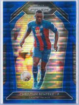Christian Benteke Panini Prizm Premier League 2020-21  Blue Pulsar 063195