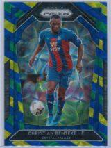 Christian Benteke Panini Prizm Premier League 2020-21  Blue Yellow Green Choice Prizm