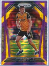 Conor Coady Panini Prizm Premier League 2020-21  Violet Pulsar 2899
