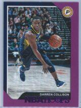 Darren Collison Panini NBA Hoops 2018-19  Purple