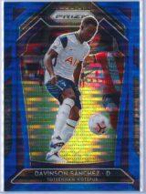 Davinson Sanchez Panini Prizm Premier League 2020-21  Blue Pulsar 012195