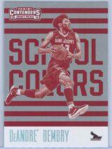 DeAndre Bembry Panini Contenders Draft Picks 2016-17 School Colors