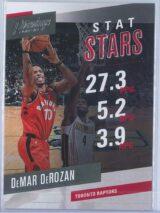DeMar DeRozan Panini Prestige 2017-18 Stat Stars