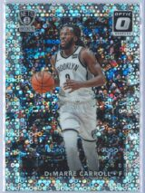 DeMarre Carroll Panini Donruss Optic Basketball 2017-18  Fast Break Holo Prizm
