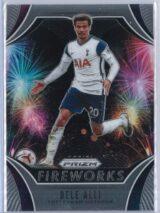 Dele Alli Panini Prizm Premier League 2020-21 Fireworks