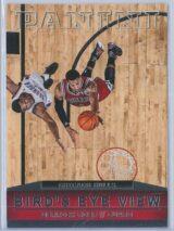 Derrick Rose Panini Basketball 2013-14 Birds Eye View