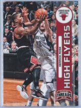 Derrick Rose Panini Threads 2012-13 High Flyers