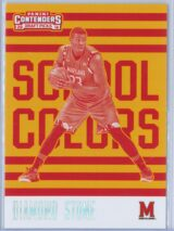 Diamond Stone Panini Contenders Draft Picks 2016-17 School Colors