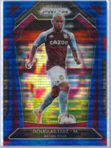 Douglas Luiz Panini Prizm Premier League 2020-21  Blue Pulsar 143195