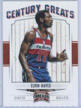 Elvin Hayes Panini Threads 2012-13 Century Greats