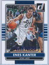 Enes Kanter Panini Donruss Basketball 2014-15  Press Proof Blue 6199