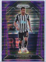 Fabian Schar Panini Prizm Premier League 2020-21  Violet Pulsar 9099