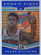 Frank Ntilikina Panini Donruss Optic Basketball 2017-18 Rookie Kings Purple