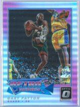 Gary Payton Panini Donruss Optic Basketball 2017-18 Retro Series Holo