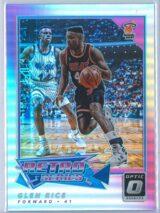 Glen Rice Panini Donruss Optic Basketball 2017-18 Retro Series Holo