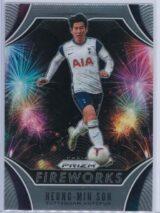Heung Min Son Panini Prizm Premier League 2020-21 Fireworks