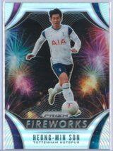 Heung Min Son Panini Prizm Premier League 2020-21 Fireworks Silver Prizm