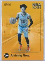 Ja Morant Panini NBA Hoops 2019-20 Arriving Now