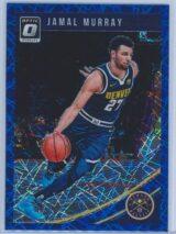 Jamal Murray Panini Donruss Optic Basketball 2018-19  Blue Velocity Prizm