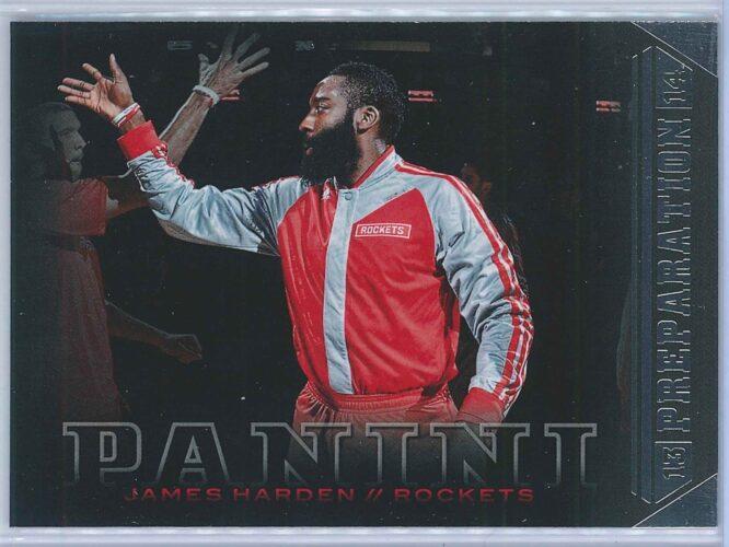 James Harden Panini Basketball 2013-14 Preparation
