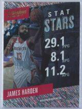 James Harden Panini Prestige 2017-18 Stat Stars Rain Parallel