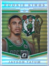 Jayson Tatum Panini Donruss Optic Basketball 2017-18 Rookie Kings Holo