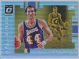 Jerry West Panini Donruss Optic Basketball 2017-18 Hall Kings Holo
